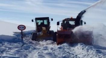 Karayolları 18.Bölge Müdürlüğü 181 (Kars) ve 183(Ardahan) Şube Şeflikleri Kar ve Buzla Mücadele İşi